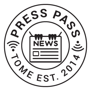 press-badge