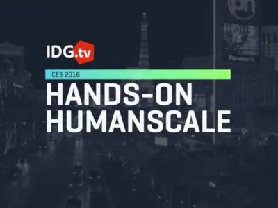 IDtv CES2016 Hands On Humanscale