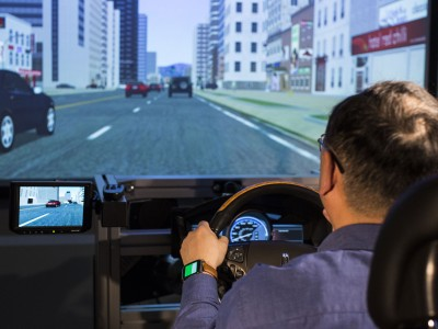Ford's wearables lab experiments with intersection of cars and health tech